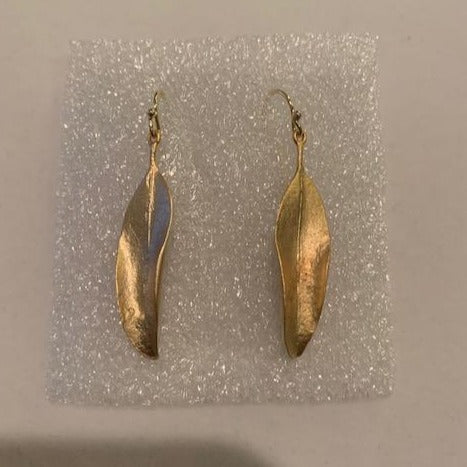 Michael Michaud Retired Eucalyptus Wire Earrings 4014 BZG Retail Price $72