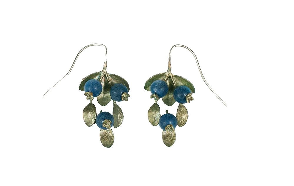 Michael Michaud for Silver Seasons Blueberries Wire Earrings 4744