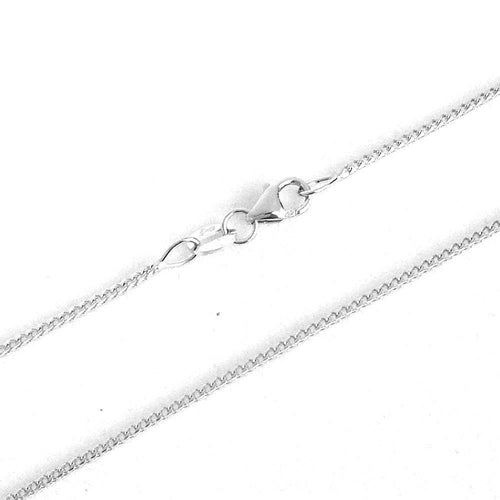 18 inch 14K white gold Franco chain with lobster clasp 3 grams $420