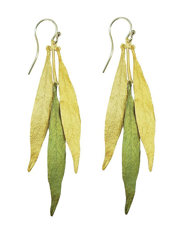 Michael Michaud Retired Weeping Willow Wire Earrings 3078 Retail Price $84
