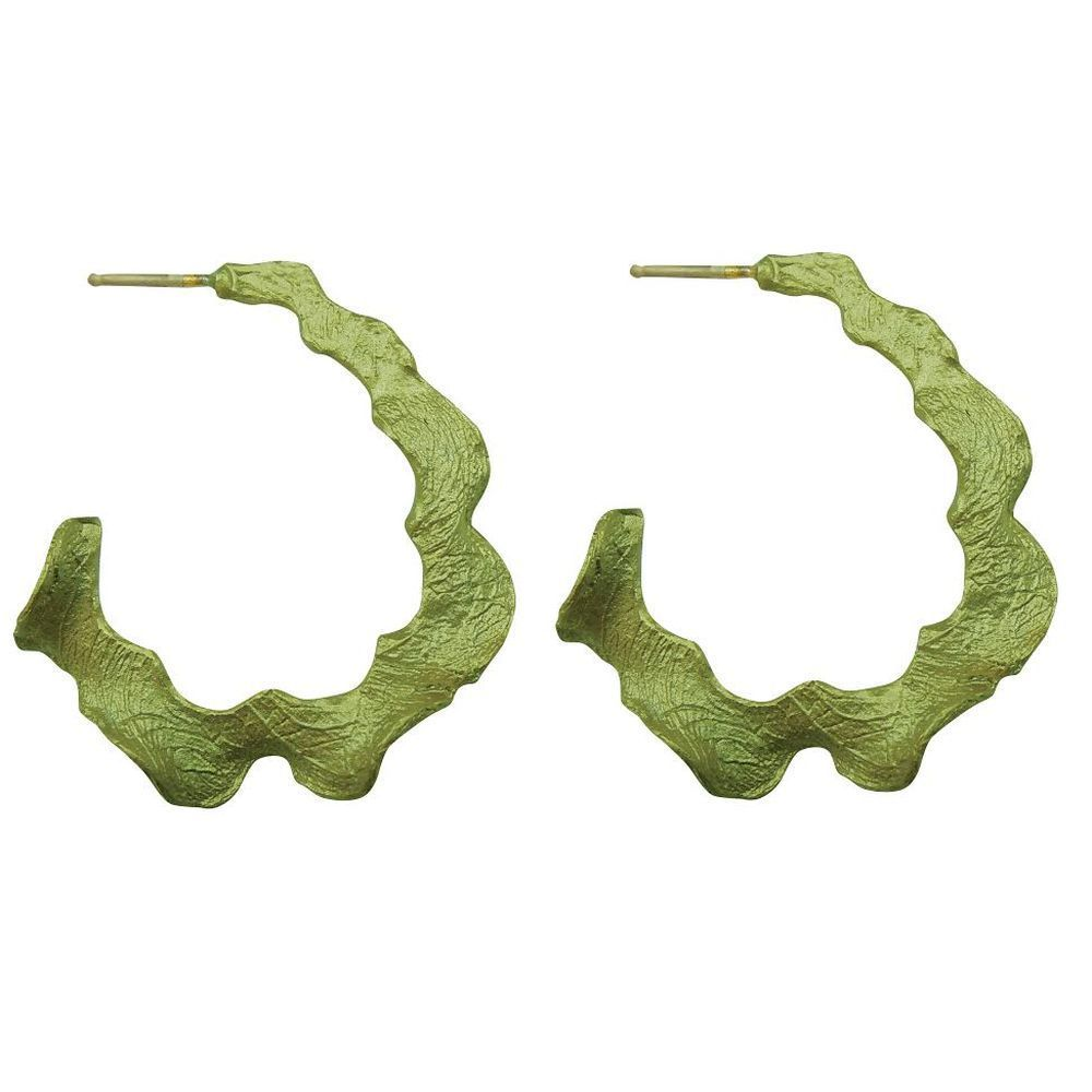 Michael Michaud Retired Curly Pods Post Hoop Earrings 3104 BZ Retail Price $48