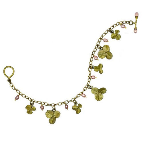 Michael Michaud Retired Pink Clover Bracelet 7256 Retail price $84