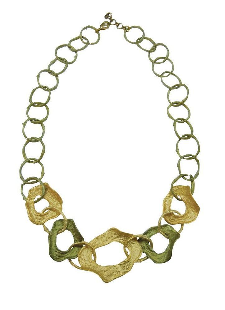 Michael Michaud Retired Curly Pods Necklace 8971 BZ Retail price $138