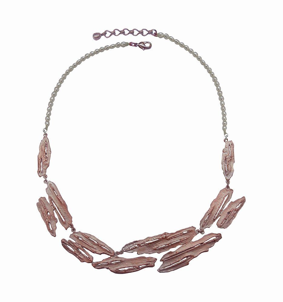 Michael Michaud Retired Birch Bark Necklace 8934 SC Retail price $135