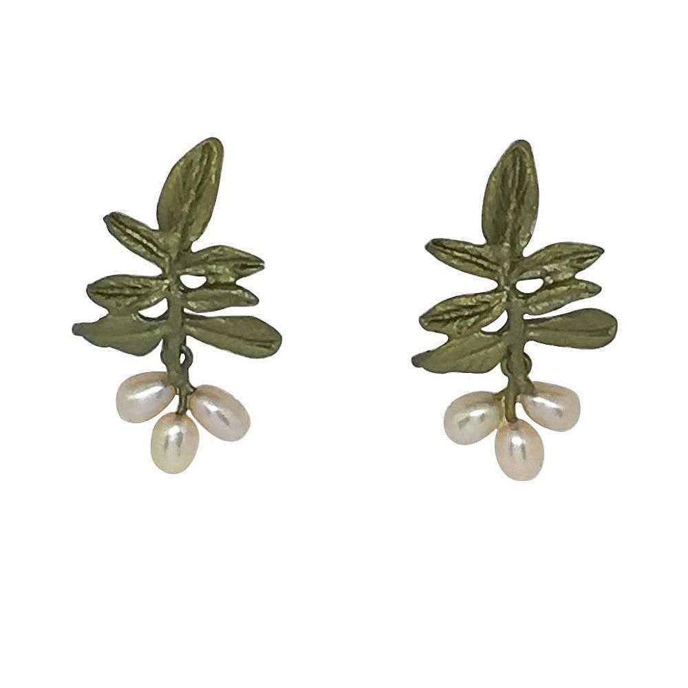 Michael Michaud Retired Wisteria Post Earrings 4765 Retail Price $88