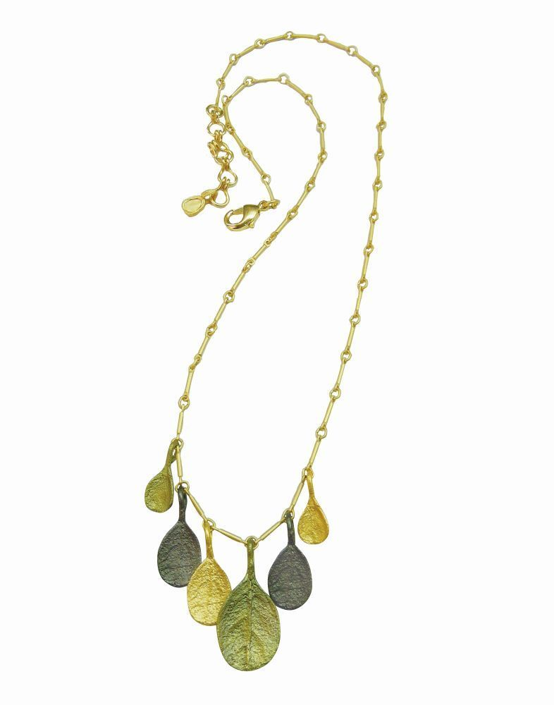 Michael Michaud Retired Bahamian BayTri ColorNecklace 8981 Retail Price $78