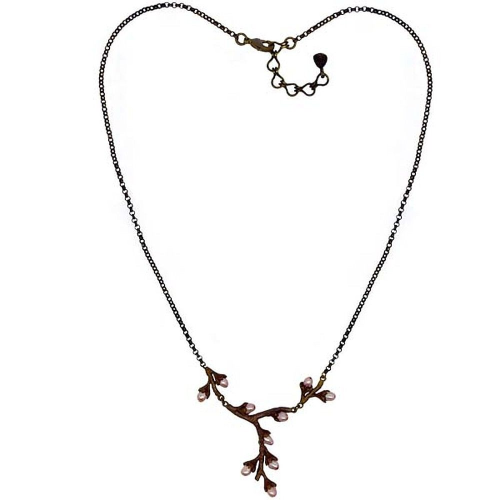 Michael Michaud Retired Prunus Necklace 9019 Retail Price $89
