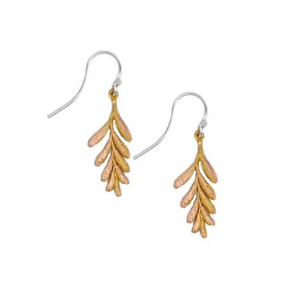 Michael Michaud Retired Petite Ember Glow Wire Earrings 3146 Retail Price $44