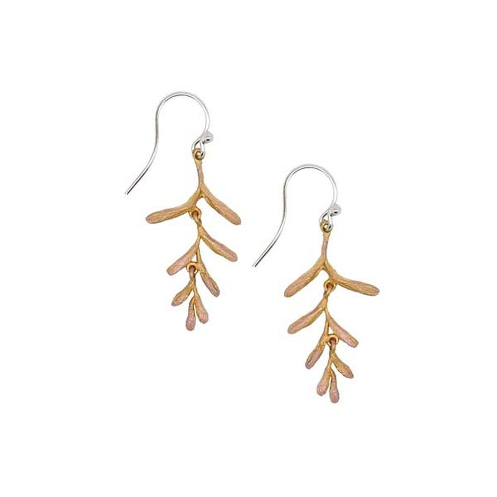 Michael Michaud Retired Ember Glow Wire Earrings 3145 Retail Price $58