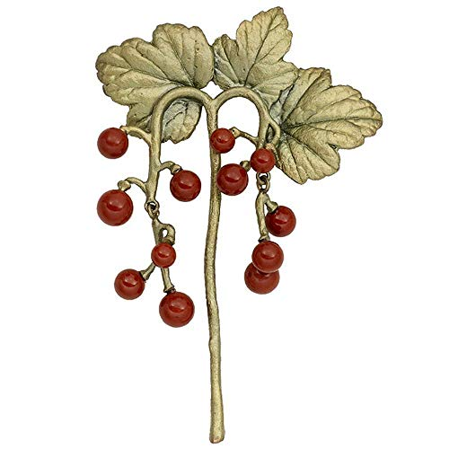 Michael Michaud Silver Seasons Retired Gooseberry Pin 5975 Retail $109