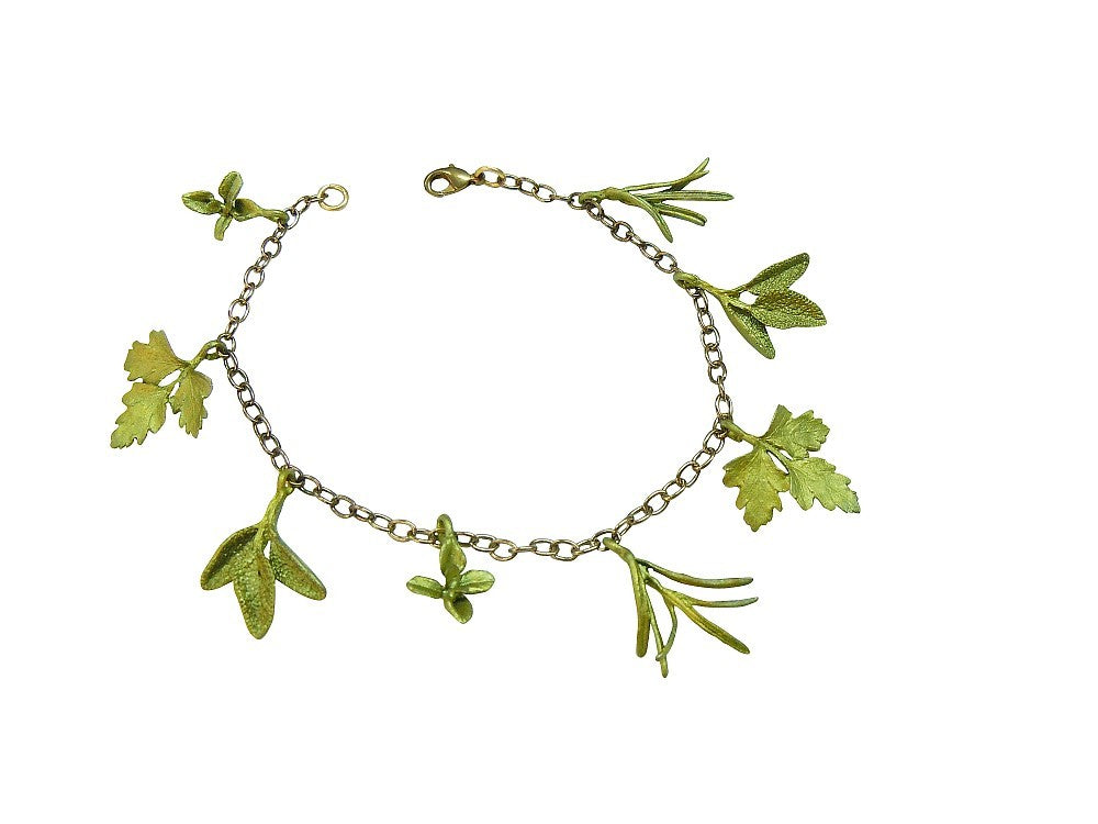 Michael Michaud for Silver Seasons Petite Herb Bracelet 7238 BZ