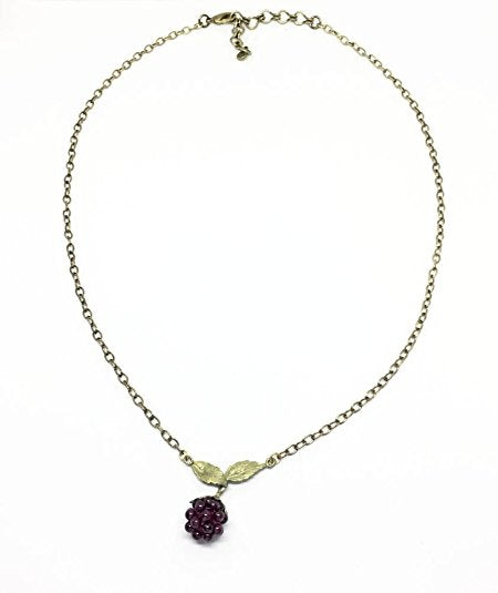 Michael Michaud Raspberry Pendant Necklace 7535