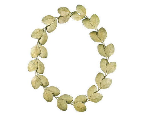 Michael Michaud Retired Eucalyptus Leaf Necklace 7771 BZ Retail $227