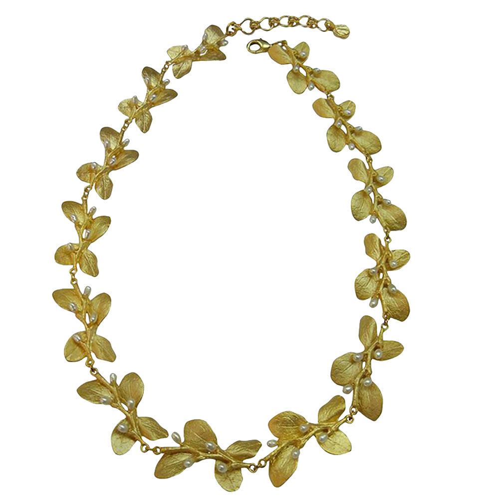 Michael Michaud Retired Irish Thorn Necklace 7946 BZG Retail $296