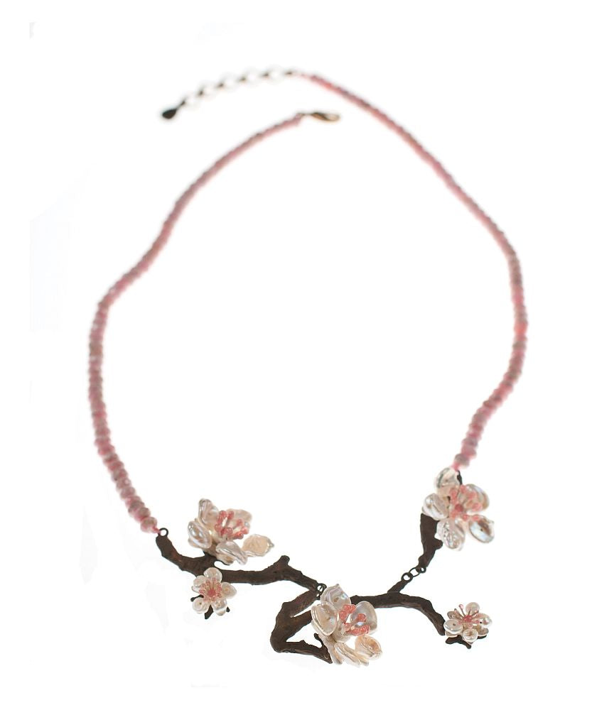 Michael Michaud Retired Cherry Blossom Necklace 8283 Retail Price $216