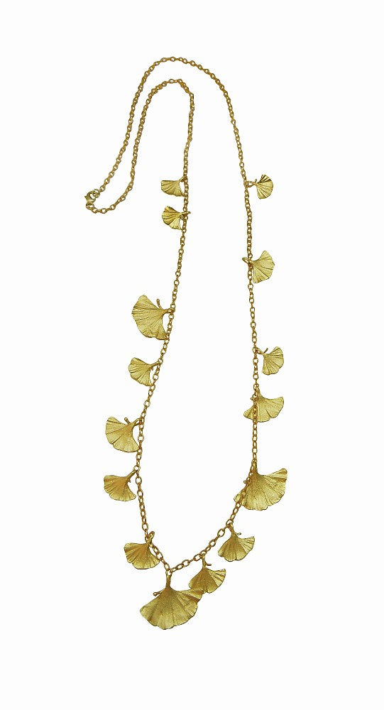 Michael Michaud Retired Gingko 36 Inch Necklace 8319 BZG Retail $128