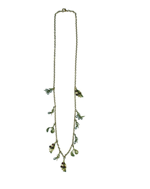 Michael Michaud Retired Holiday Necklace 8349 Retail $135