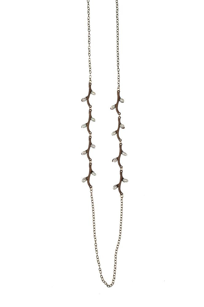 Michael Michaud Retired Pussy Willow 36 Inch Necklace 8350 Retail $104