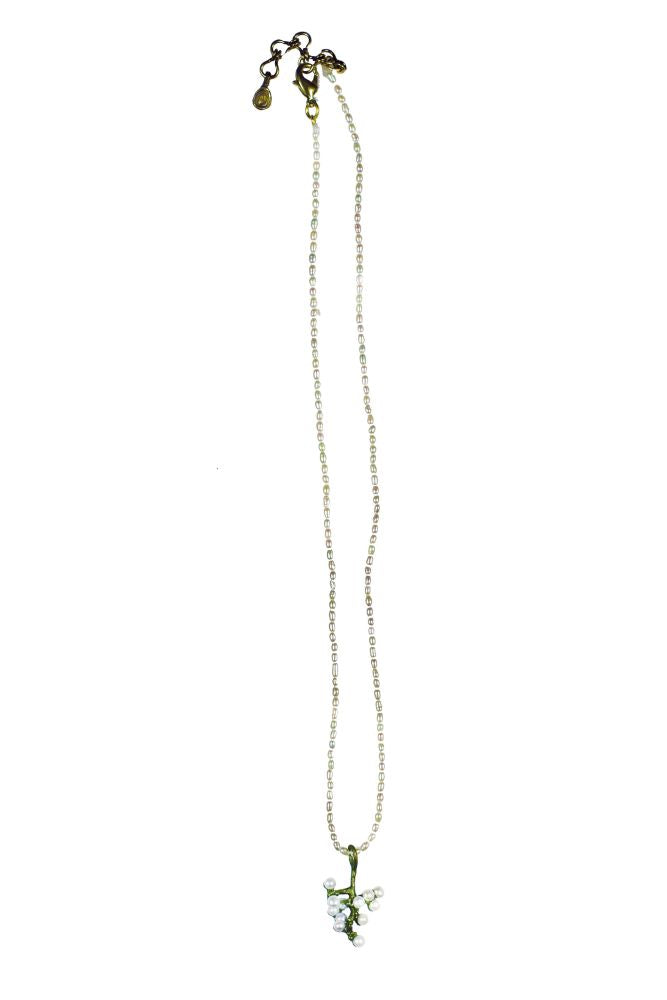 Michael Michaud Silver Seasons Retired Ume Necklace 8809 Retail $90