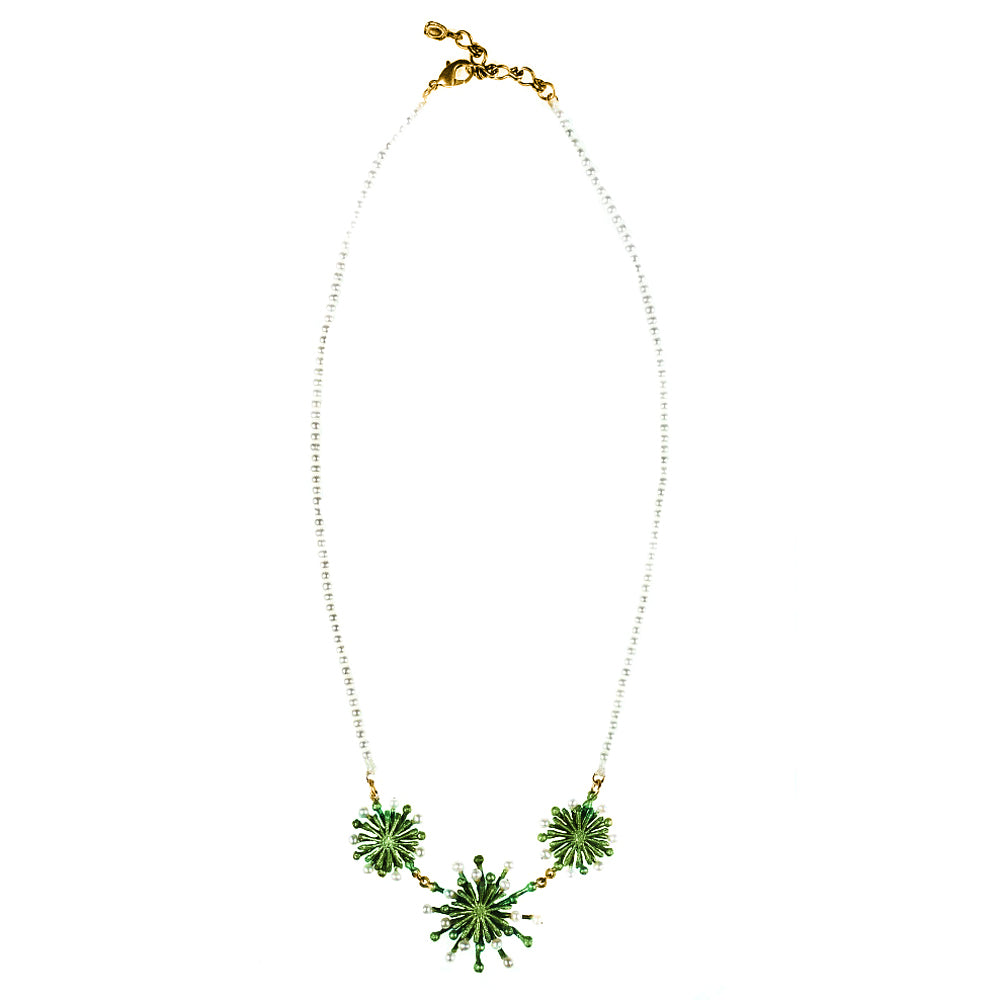 Michael Michaud Retired Firewheel Tree Necklace 8886 Retail $178