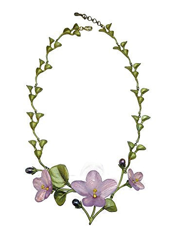 Michael Michaud Retired African Violet Contour Necklace 8927 Retail Price $181