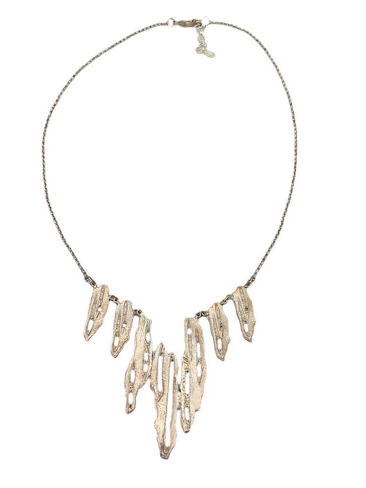 Michael Michaud Retired Birch Bark Necklace 8933 SC Retail price $90