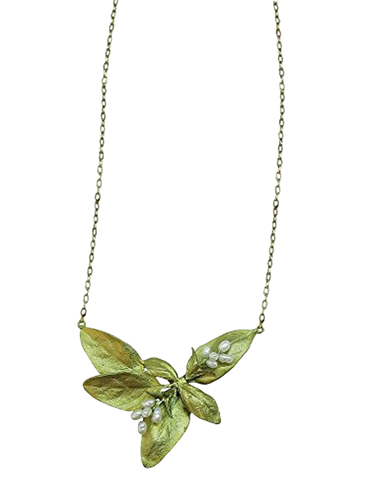 Michael Michaud Retired Sweet Basil Pendant Necklace 8959 Retail $110