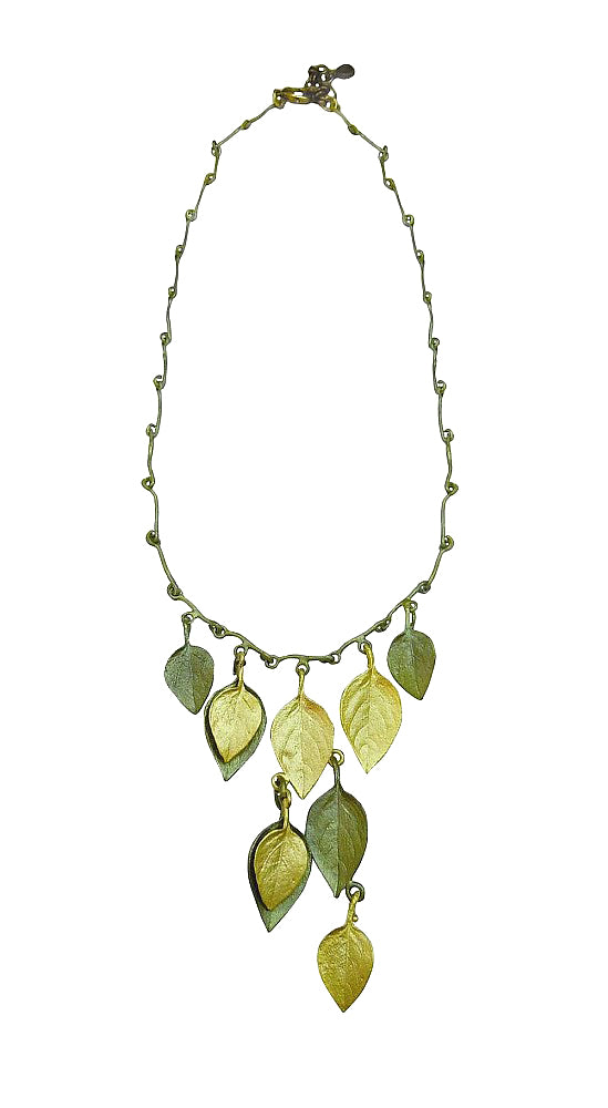 Michael Michaud for Silver Seasons Retired Basil Necklace 8960 Retail $170