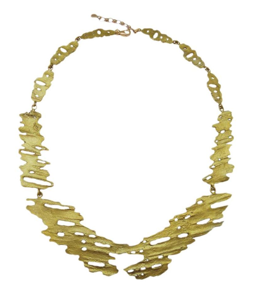 Michael Michaud Retired Birch Bark Necklace 8963 BZG Retail price $144