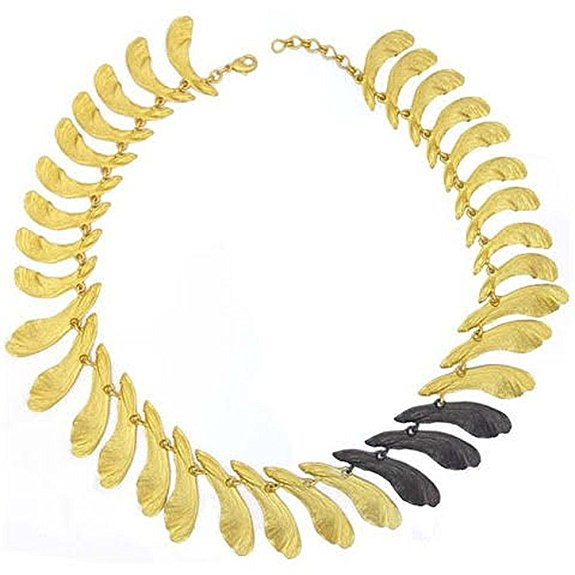 Michael Michaud Retired Samara Statement Necklace 9016 BZGMG Retail price $192
