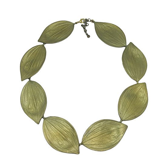 Michael Michaud Retired Solomon's Seal Collar Necklace 9040 BZ Retail Price $144