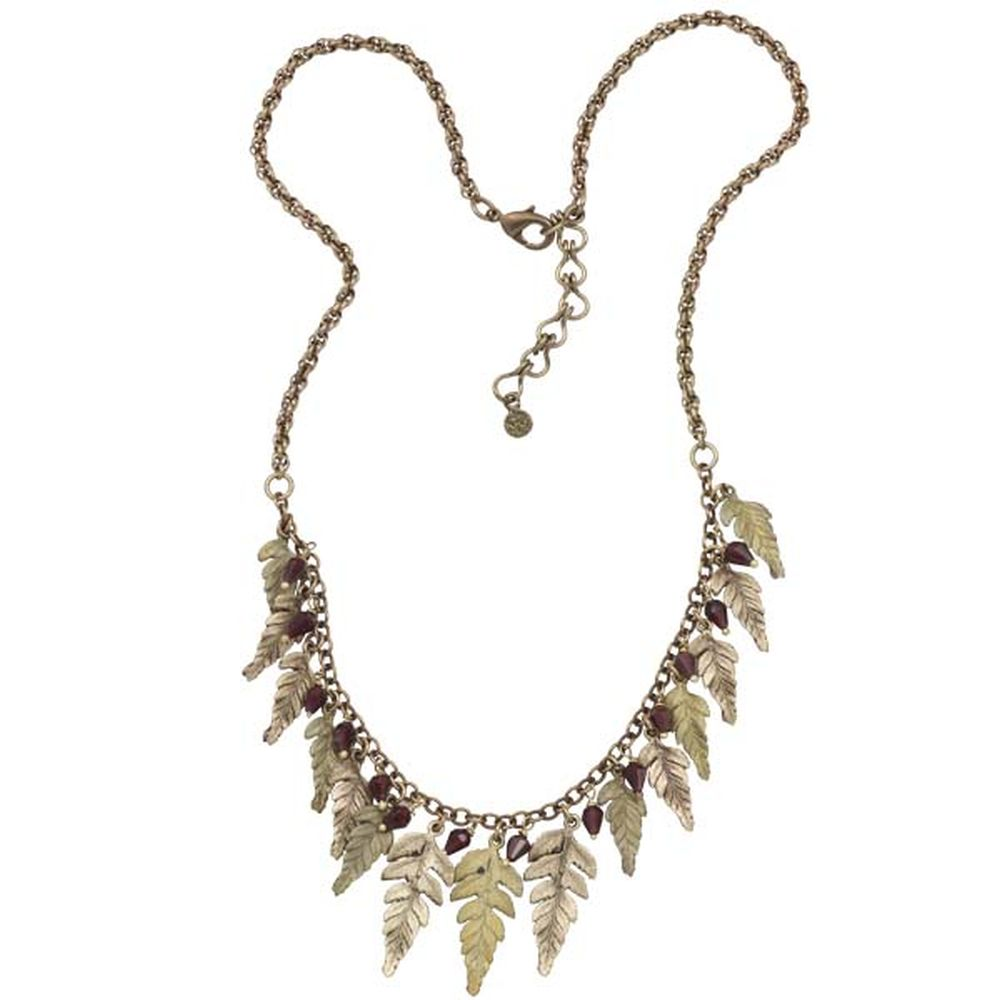 Michael Michaud Retired Small Fern Fringe Necklace 9074 Retail $181