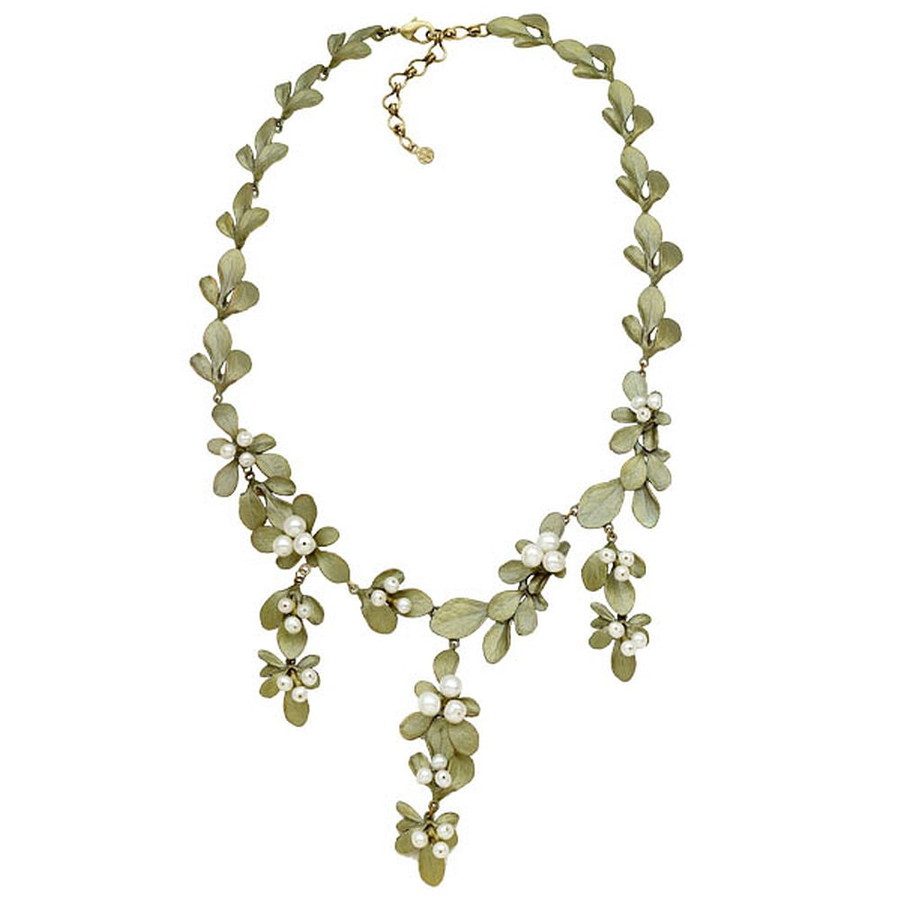 Michael Michaud Retired Barberry Contour Necklace 9121 Retail $287