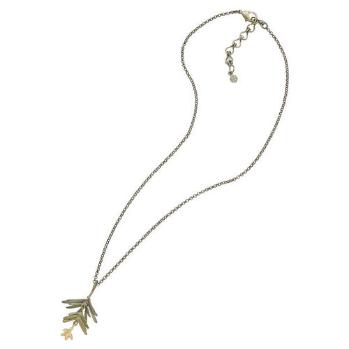 Michael Michaud Retired Petite Pine Necklace 9128 Retail Price $73