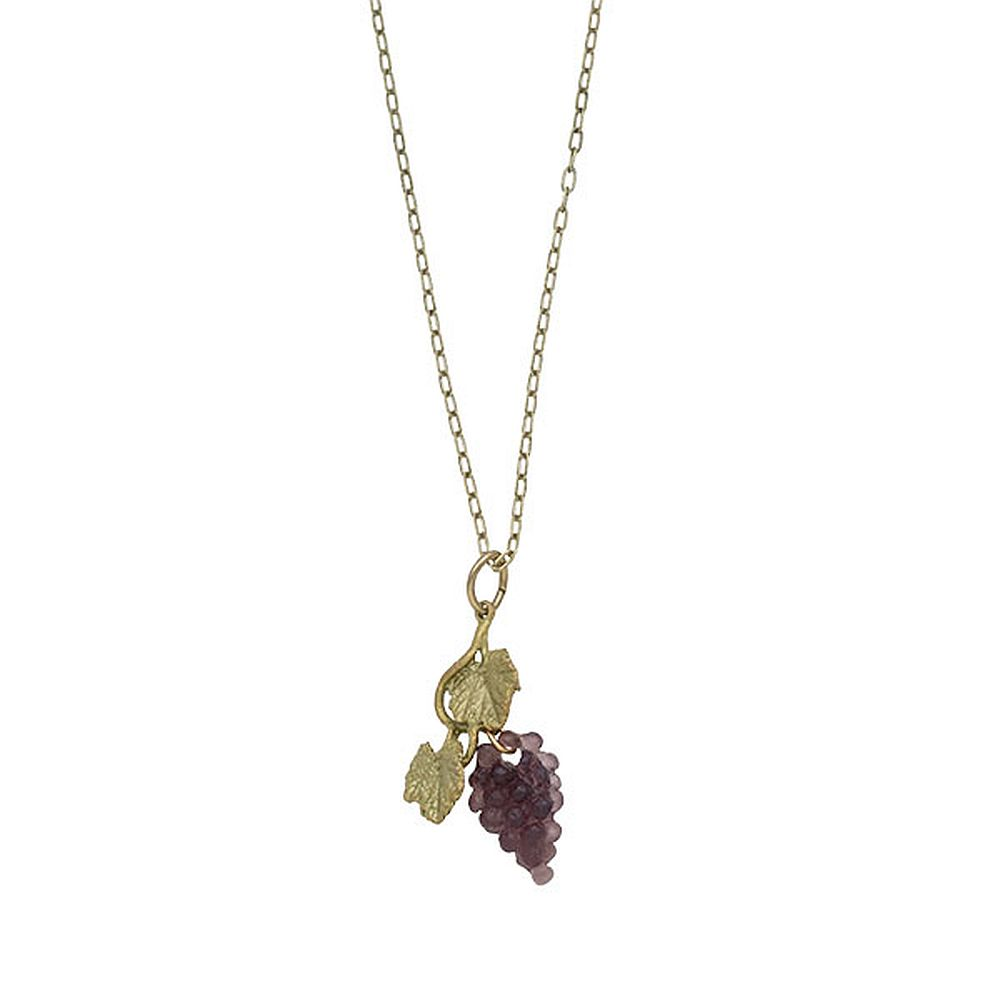 Michael Michaud Retired Grapevine Pendant Necklace 9138 Retail $66