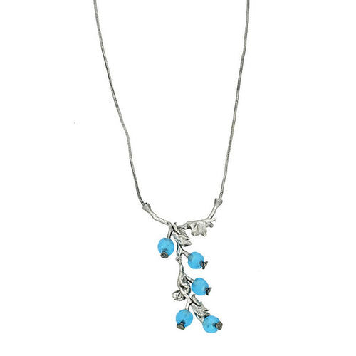 Michaud Retired Winter Berry Necklace 9193 BZS Retail $89