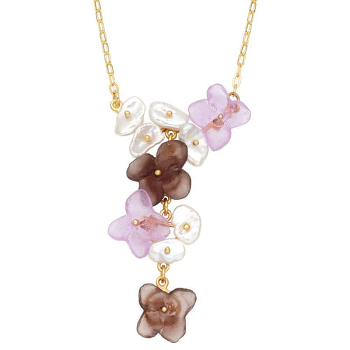 Michael Michaud Retired French Bouquet Necklace 9220 BZGWP Retail price $148