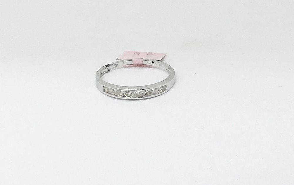14K White Gold 0.15 cttw Diamond Ring NWT $880