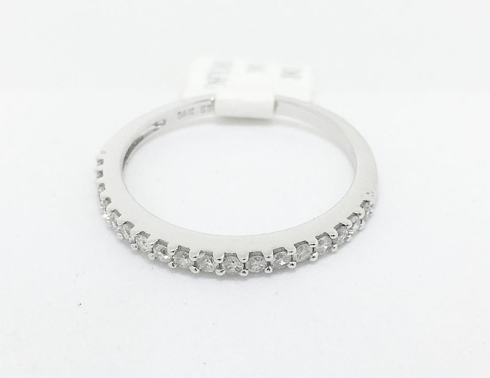 14K White Gold Diamond Ring NWT $670
