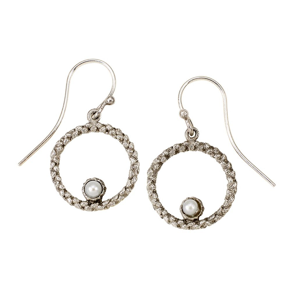 Michael Michaud Second Nature Retired Balance Twine Hoop Earrings E112S Retail Price $37