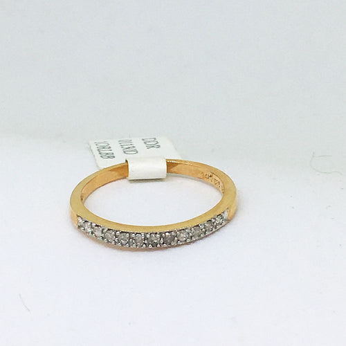 14K Rose Gold Diamond Ring NWT $460