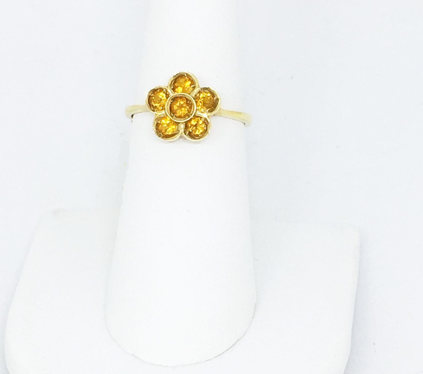 14K Yellow Gold Citrine Ring NWT $490