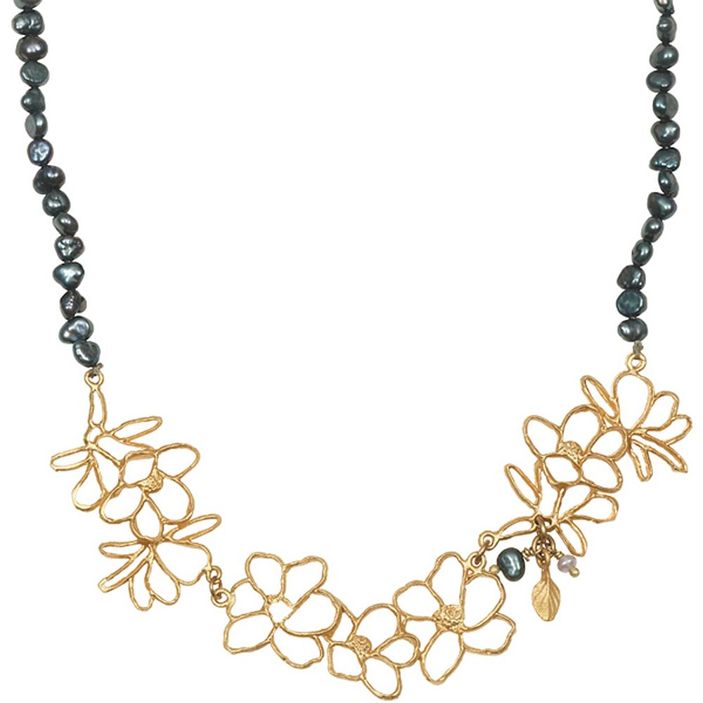 Michael Michaud Second Nature Retired Magnolia Necklace N204 Retail Price $76