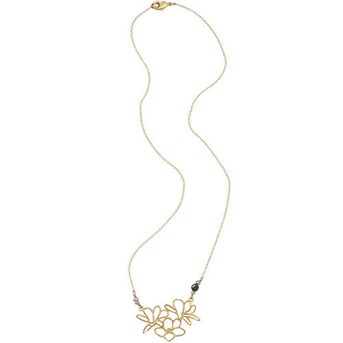 Michael Michaud Second Nature Retired Magnolia Necklace N205 Retail Price $51