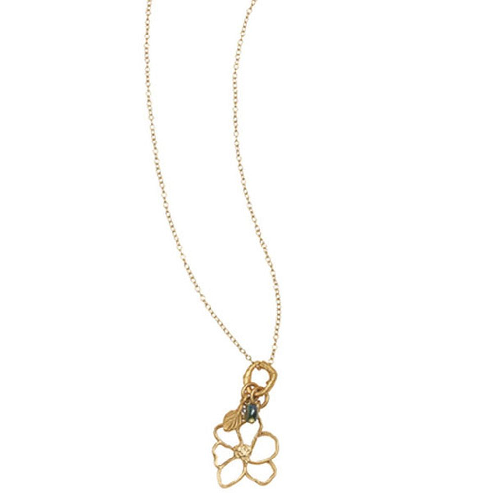 Michael Michaud Second Nature Retired Magnolia Necklace N206 Retail Price $51