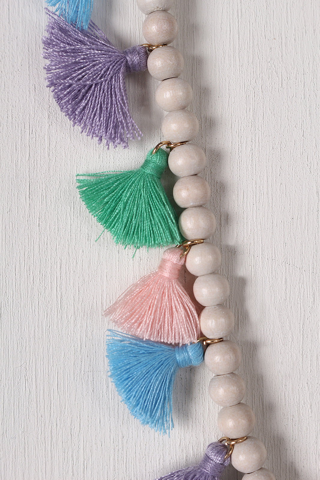 Colorful Beaded Elastic Necklace
