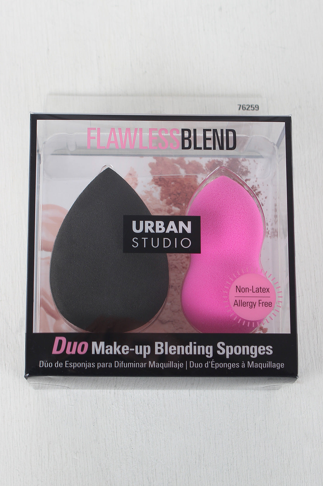 Flawless Blend Urban Studio Duo Make-up Sponges
