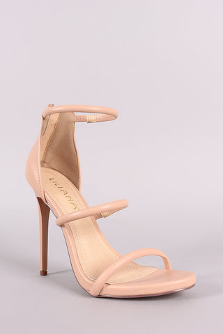 Liliana Triple Straps Stiletto Heel