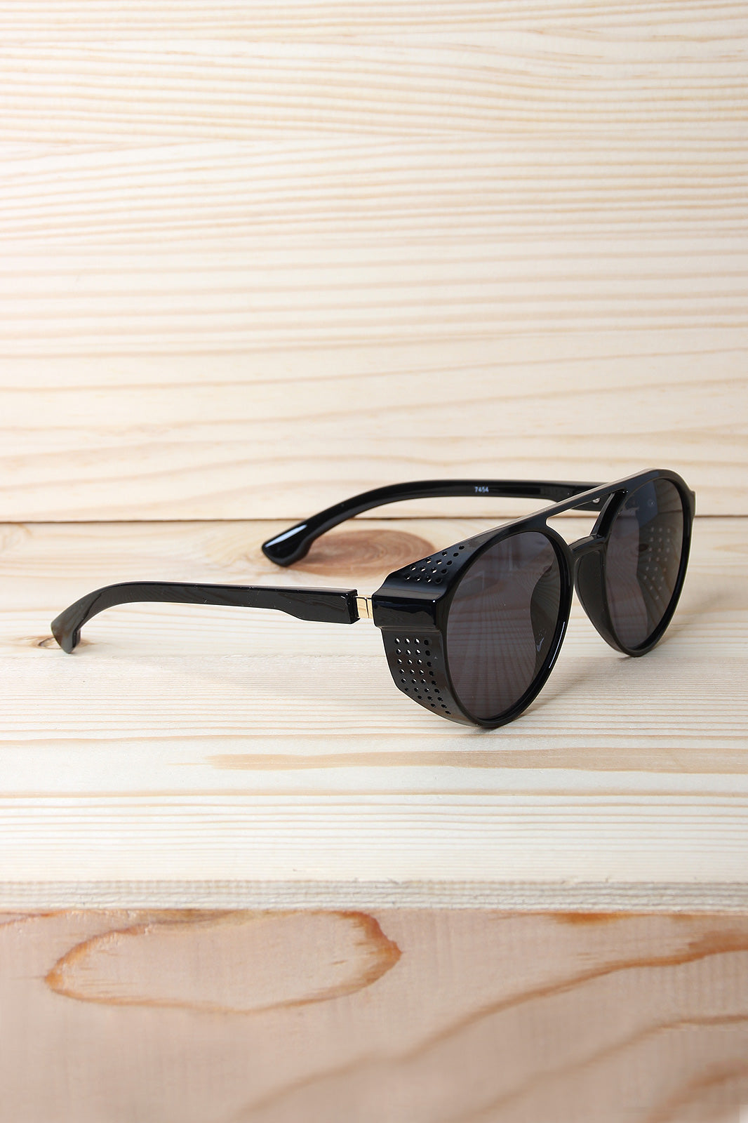 Bar Brow Brim Frame Sunglasses