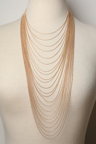 Ball-Link Layered Necklace